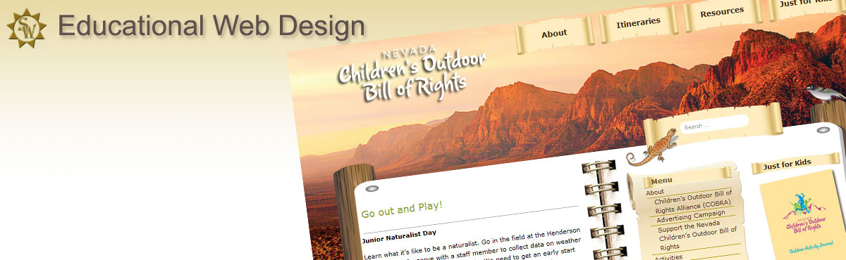 Nevada Outdoor Childrens Bill of Rights WordPress